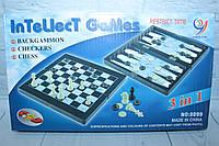 Шахматы 3 в 1, шашки, нарды, в кор. 32*18 см., фото 1