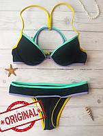 Купальник Раздельный Victoria's Secret плавки ExtraSmall, топ - 32B 70B, Оригинал, Виктория Сикрет