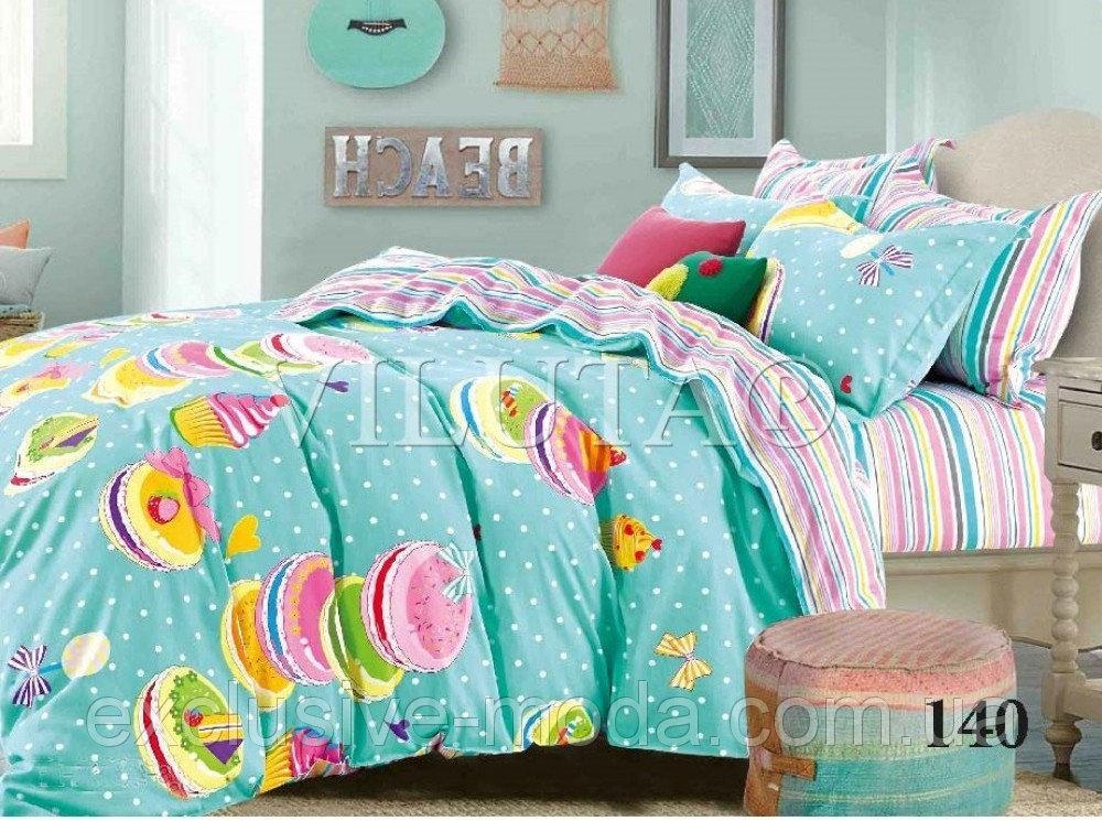 Комплект постельного белья Вилюта сатин подростковый полуторный 140 -  Exclusive в Хмельницком 1a094be3bcf13