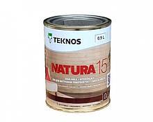 Лак акриловый TEKNOS NATURA 15 мебельный (полуматовый) 0,9 л
