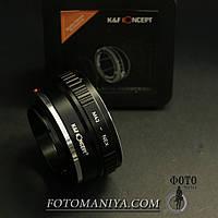 Перехідне кільце адаптер K&F Concept M42 - Sony E (NEX)