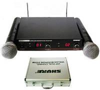 Микрофоны SHURE База UT282UHF радиомикрофоны Beta 58