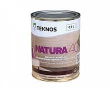 Лак акриловый TEKNOS NATURA 40 мебельный (полуглянцевый) 0,9 л