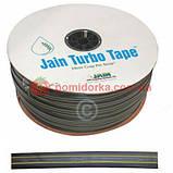 Капельная лента Jain Turbo Tape 0.95 л/ч 8 mil 20 см 1000 м, фото 2