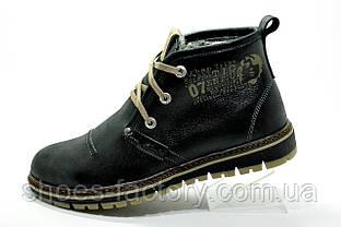 Зимние мужские ботинки Clarks Urban Trip, Black\Черные