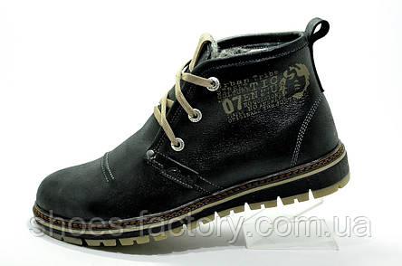 Зимние мужские ботинки Clarks Urban Trip, Black\Черные, фото 2