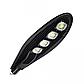 Уличный LED-фонарь Yufite, 100W, IP65, 6000K, угол рассеивания 120°, Black, фото 4