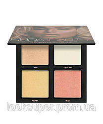 Палетка 3D хайлайтеров Huda Beauty The Pink Sands Edition