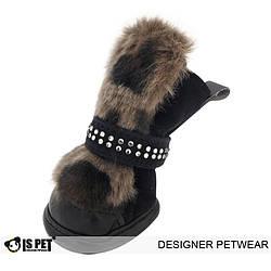Ботинки с мехом для собак