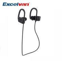 Беспроводная стерео Bluetooth гарнитура наушники Excelvan S560 с микрофоном черные