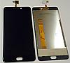 Оригинальный дисплей (модуль) + тачскрин (сенсор) для Leagoo T5 | T5c (черный цвет)