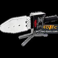 Паяльник для ПВХ труб 50-300°C, 20-63 мм, Eurotec PW 101 аппарат для пайки пластиковых полипропиленовых труб
