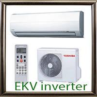 Серия EKV inverter кондиционеры Toshiba