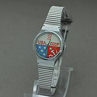 Часы Заря кварц женские кварцевые СССР США , фото 1