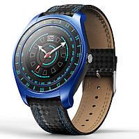 Smart V10 часы - Черный/синий