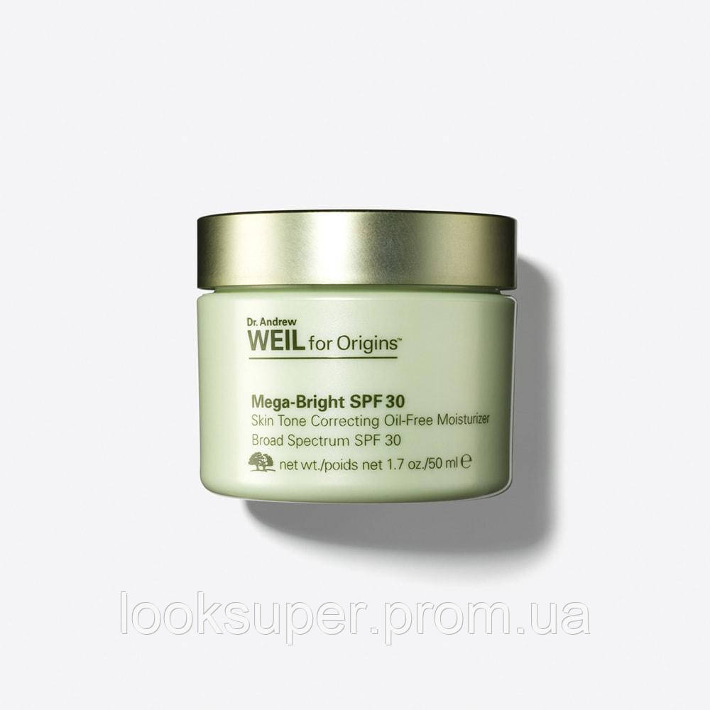 Крем для лица ORIGINS Mega-Bright SPF30 Skin Tone Correcting Oil-Free Moisturiser