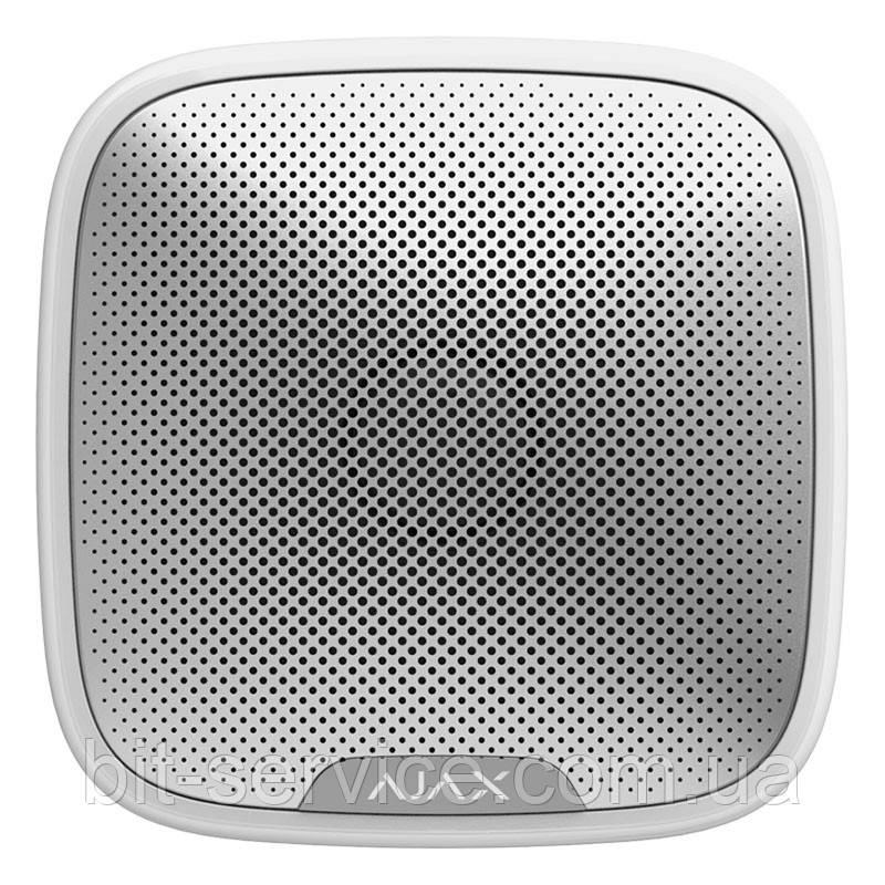 Ajax StreetSiren – Бездротова вулична сирена – біла