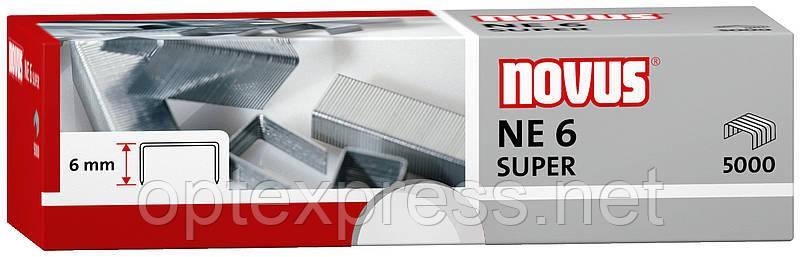 Скобы специальные NE6 SUPER для электростеплера  NOVUS