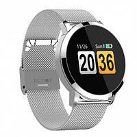 Herzband Elegance 2  часы с измерением давления - Серебряный с металлическим ремешком, фото 1