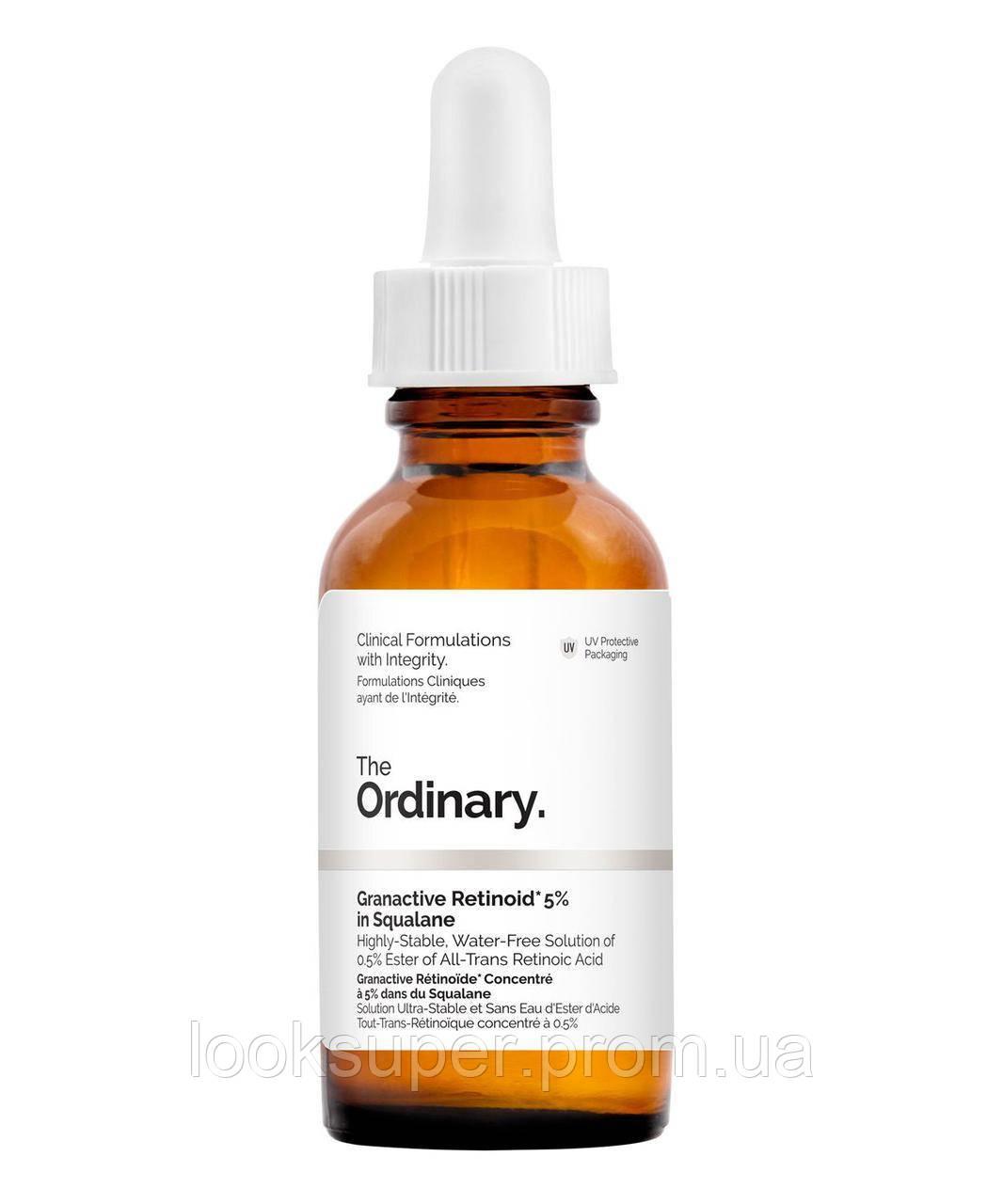 Сыворотка с 5 % Ретиноидами в сквалане The Ordinary