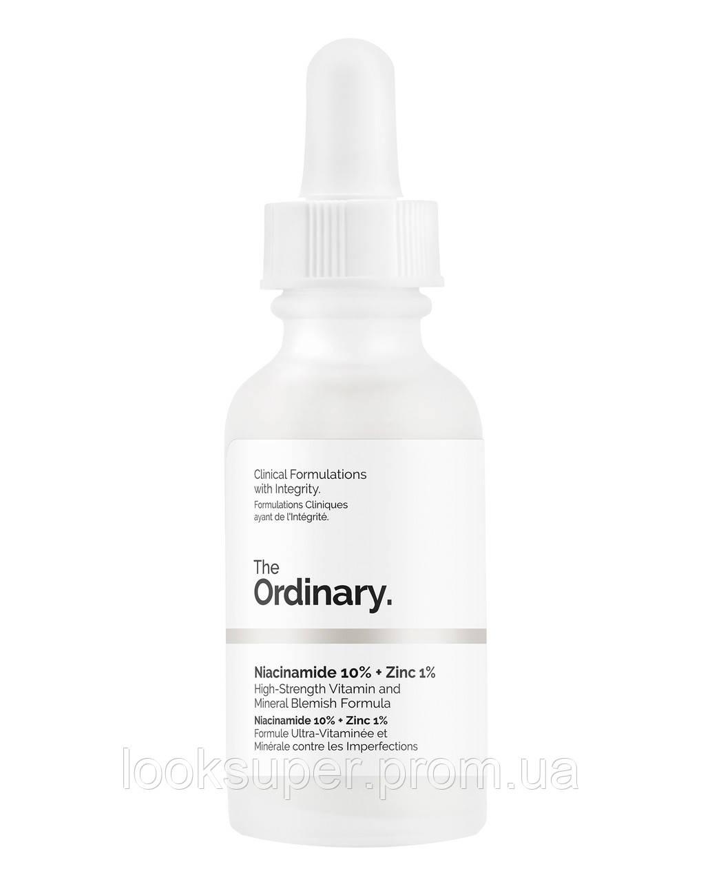 Сыворотка для проблемной кожи The Ordinary Niacinamide 10% + Zinc 1%( 30ml )