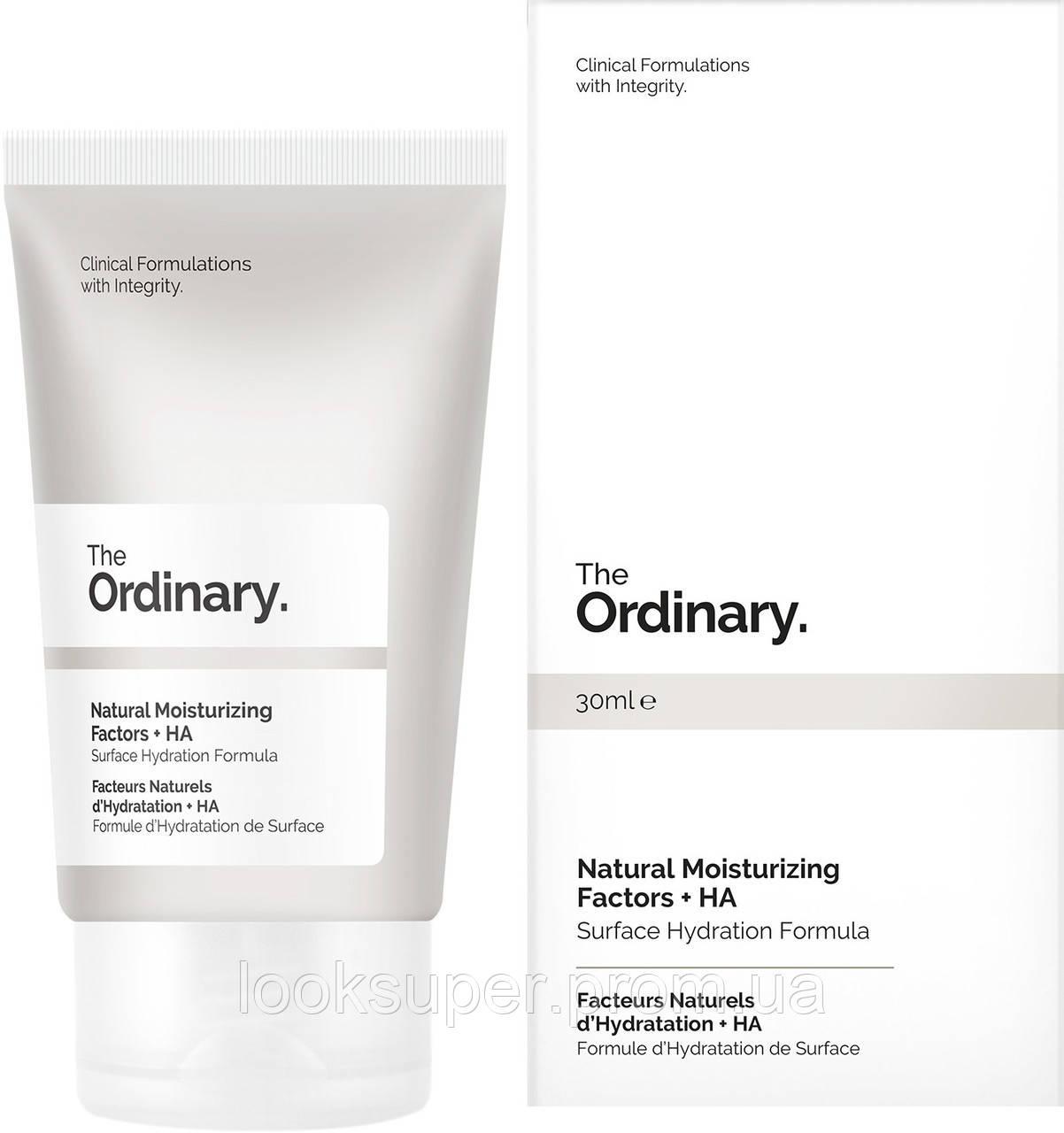 Крем для лица The Ordinary Natural Moisturizing Factors + HA( 30ml )