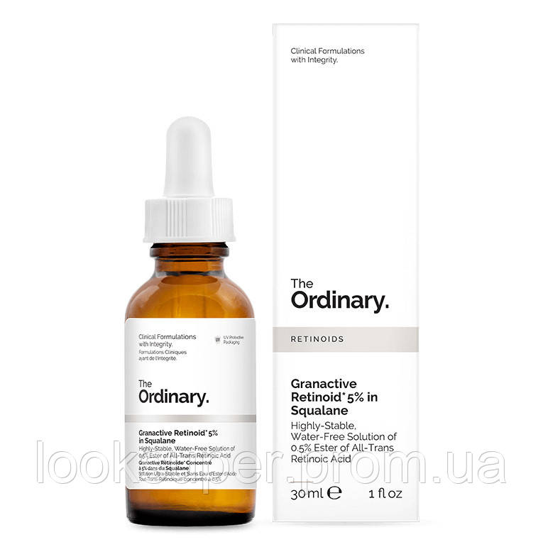 Раствор The Ordinary Retinol 0.2% in Squalane( 30ml )
