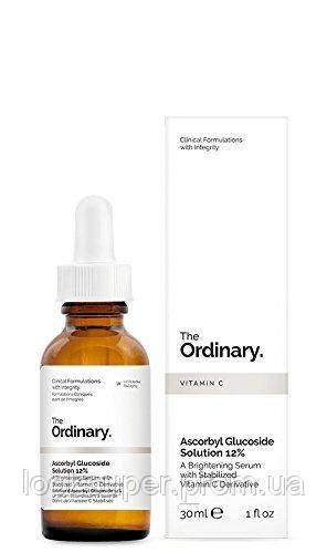 Осветляющая сыворотка The Ordinary Ascorbyl Glucoside Solution 12%( 30ml )