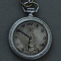 1-госчас завод старинные карманные часы СССР , фото 1