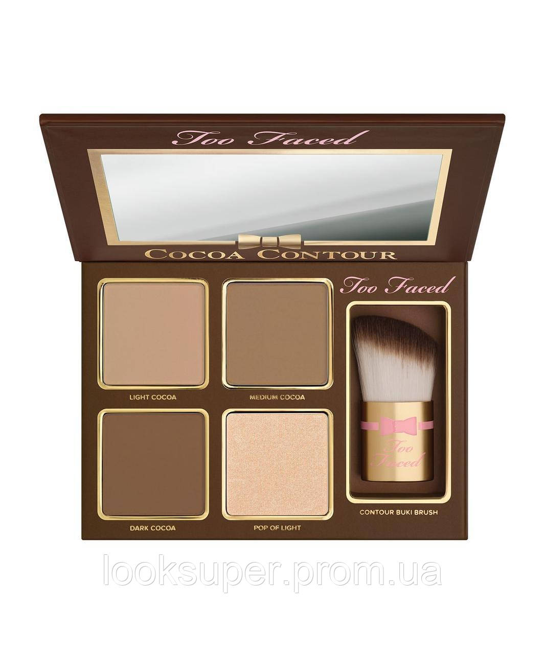 Палетка для контурирования лица  Too Faced   Cocoa Contour