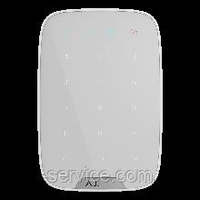Ajax KeyPad – Бездротова клавіатура – біла