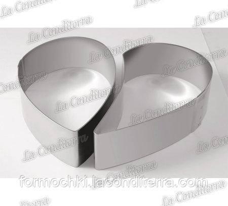 Металлическая форма для десертов MARTELLATO 35H4X14S HEART