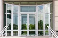 Двери алюминиевые - Теплая Входная Группа