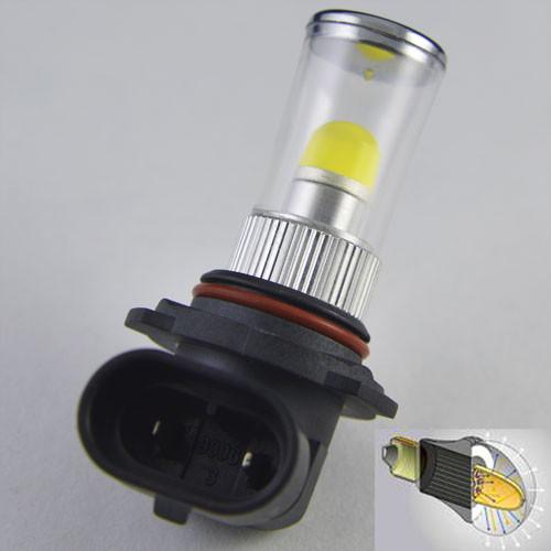 Автомобильная светодиодная лампа в противотуманные фонари SLP LED 3D  с цоколем НB4(9006) (P22d) 7.5W  Белый