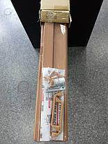 Двери гармошка-ширма 501вишня раздвижные межкомнатные пластиковые глухие 810х2030х0,6 мм, фото 3