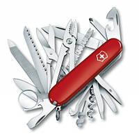 Victorinox Викторинокс нож Swisschamp 33 предметов 91 мм красный нейлон