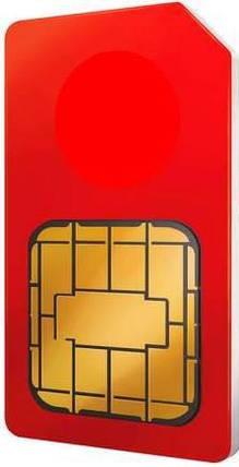 Красивый номер Vodafone 099-1-55545-8, фото 2