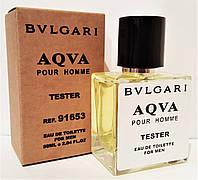 Туалетная вода в тестере BVLGARI Aqva pour homme 50 мл