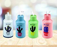 Пляшка Life is simple ( кактус ), 4 кольори