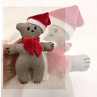 Мишка новогодний , фото 1