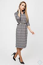 Женское платье в крупную клетку(Нинель leo), фото 3