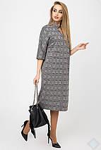 Женское платье в крупную клетку(Нинель leo), фото 2