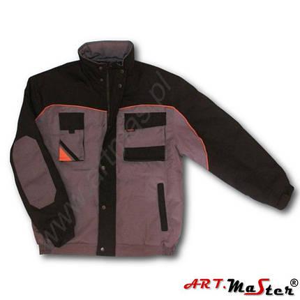 Куртка рабочая зимняя ARTMAS серого цветаKurtka PROFESSIONAL Short, фото 2