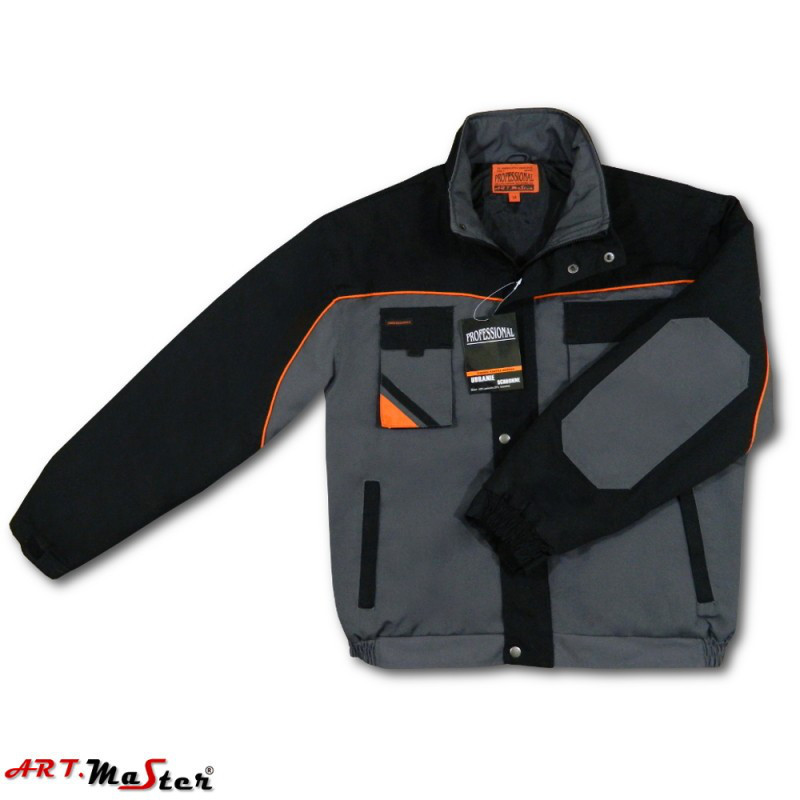 Куртка рабочая зимняя ARTMAS серого цветаKurtka PROFESSIONAL Short