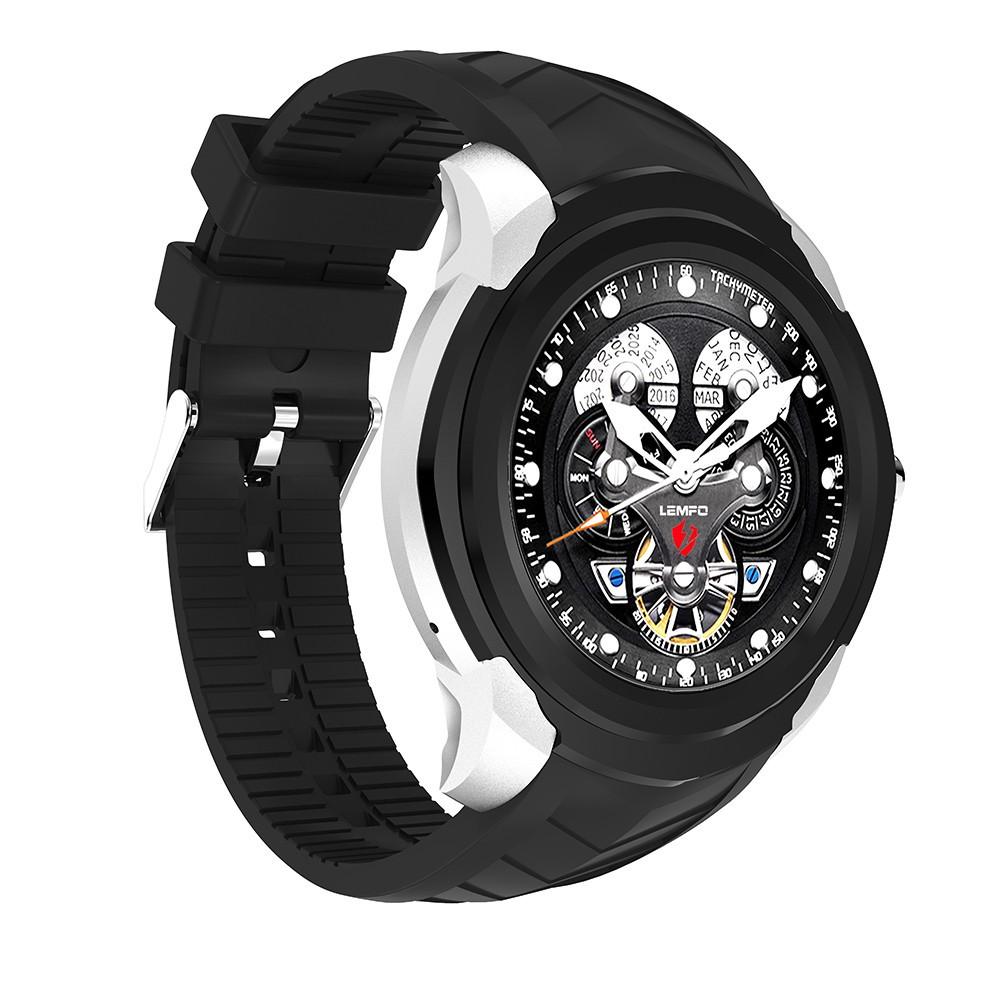 Lemfo LF17 smart часы  (карты памяти, 512Mb+4Gb) - Черный