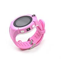 Q360 детские GPS часы с фонариком и камерой - Розовой