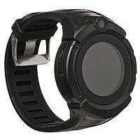 Q360 детские GPS часы с фонариком и камерой - Черный