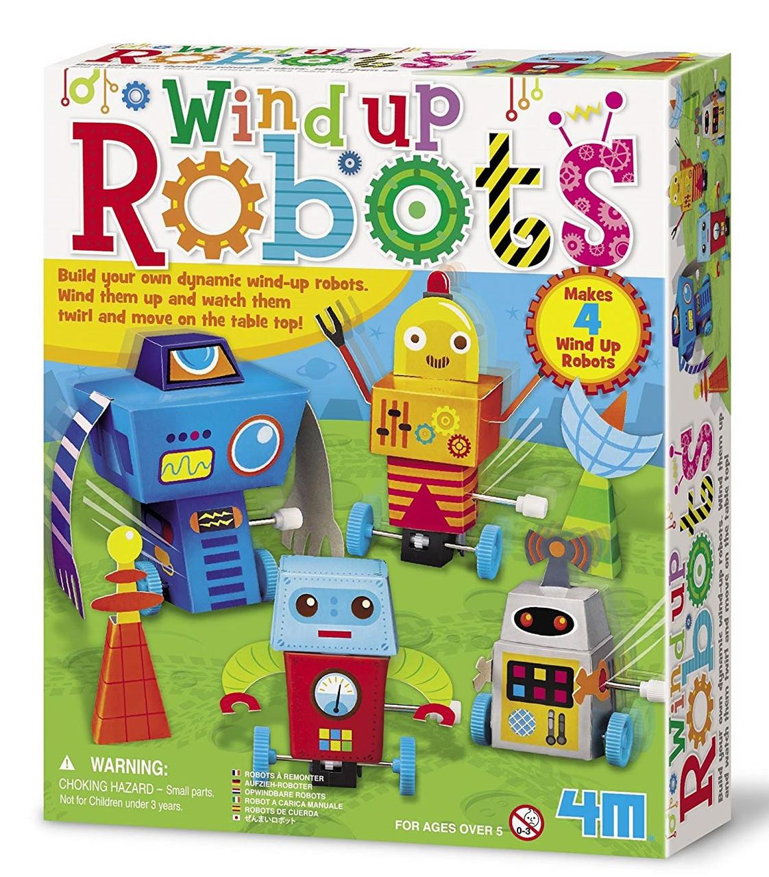 Набор для опытов Заводные роботы 4M (00-04655)