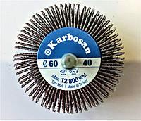 КЛО (круг лепестковый на дрель) 60х30х6 Р40 Karbosan