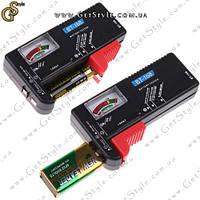 "Тестер уровня заряда батареек - ""Battery Tester"", фото 1"